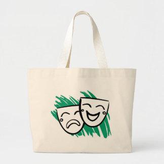 Drama Large Tote Bag