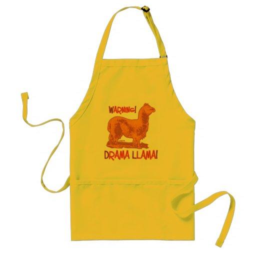 Drama Llama Adult Apron