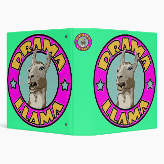 Drama Llama, 3 Ring Binders