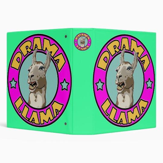 Drama Llama, Binder