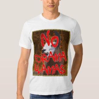 Drama Llama BronzeGold Shirt - NO Drama Llamas