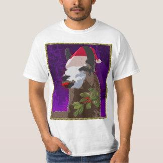 Drama Llama Christmas Shirt - Purple