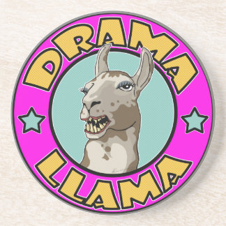 Drama Llama, Drink Coaster