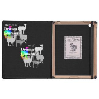 Drama Llama Herder iPad Covers