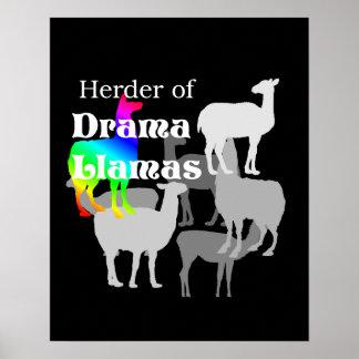 Drama Llama Herder Poster