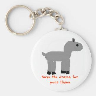 Drama Llama Key Chain