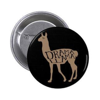 Drama Llama Pinback Button
