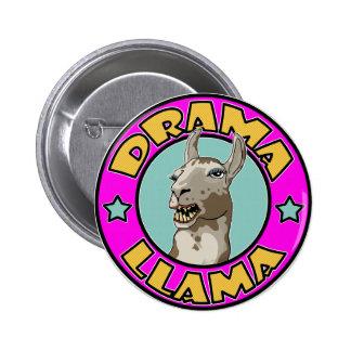 Drama Llama, Pinback Button