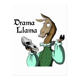 Drama Llama Postcard