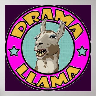 Drama Llama, print