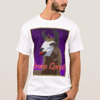 Drama Llama Purple Shirt