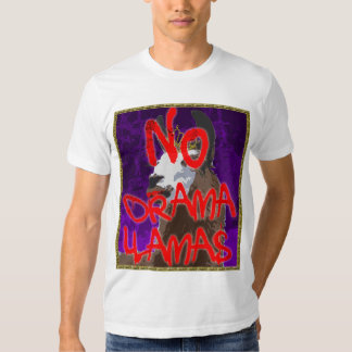 Drama Llama Purple Shirt - NO Drama Llamas