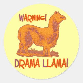 Drama Llama Stickers