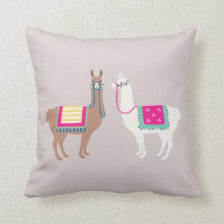 Drama Llama Throw Pillow