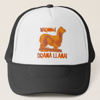 Drama Llama Trucker Hat