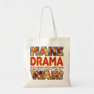 Drama Make X Budget Tote Bag