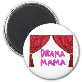 DRAMA MAMA 2 INCH ROUND MAGNET