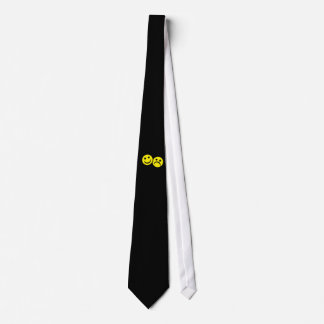 Drama Mask Smiley's Neck Tie