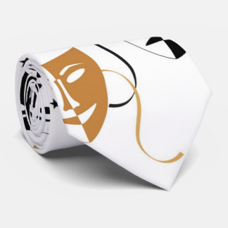Drama Mask Theatre Themed Personalized Neck Tie