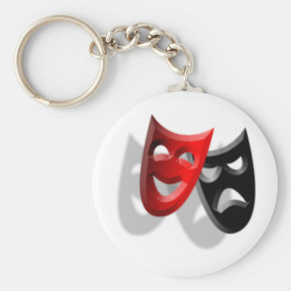 Drama Masks Keychain