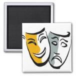 Drama masks merchandise refrigerator magnets