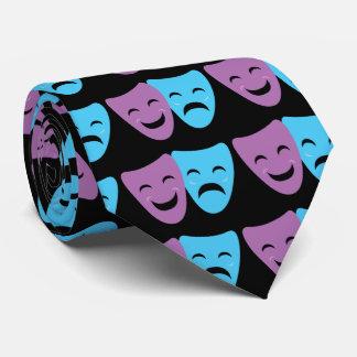 Drama Masks Neck Tie