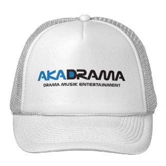 Drama Musik Entertainment aka Drama white-blue hat