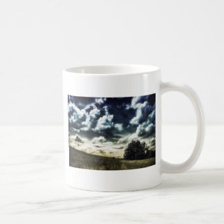 Drama On the Hill Skyscape Coffee Mug