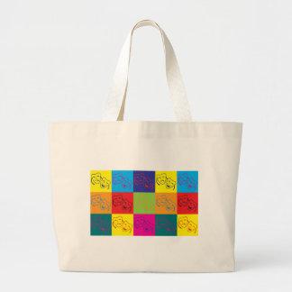 Drama Pop Art Jumbo Tote Bag