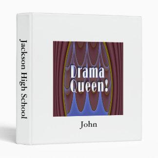 Drama Queen! Vinyl Binders