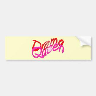 Drama Queen Car Bumper Sticker