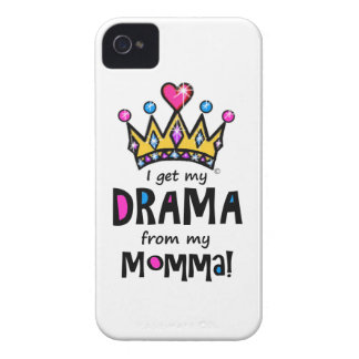 Drama Queen iPhone 4 Cover