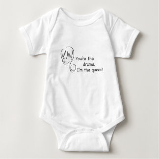 Drama Queen Toddler Baby Bodysuit