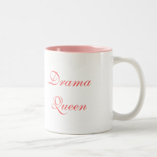 Drama Queen with Drama Queen in script letters Coffee Mug