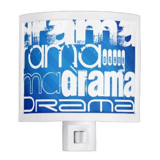 Drama; Royal Blue Stripes Night Lites