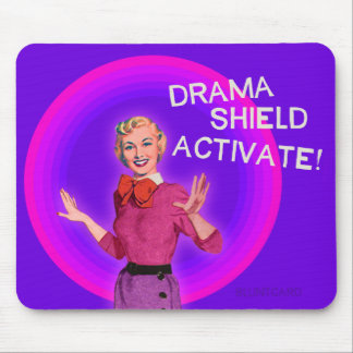 Drama Shield Activate. Bluntcards. Bluntcard. Mouse Pad