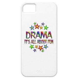 Drama sobre la diversión iPhone 5 carcasa