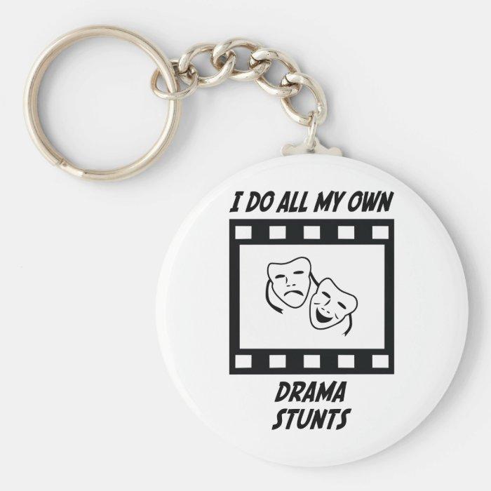 Drama Stunts Keychain