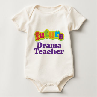Drama Teacher (Future) Pacifier Gift Baby Bodysuit