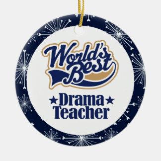 Drama Teacher Gift Ornament