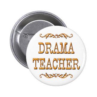 Drama Teacher Pinback Button