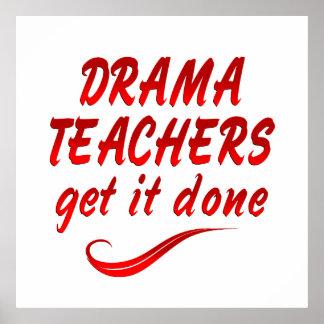 Drama Teachers Posters