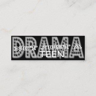 Drama Teen - Social Media Personal Card