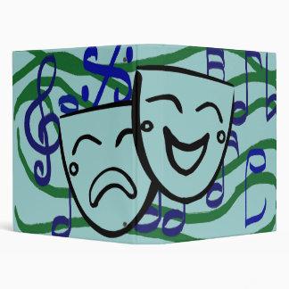 Drama: the Musical 3 Ring Binder