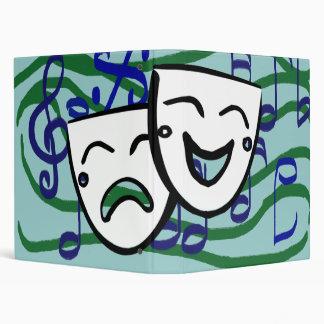 Drama the Musical 3 Ring Binder
