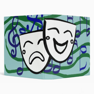 Drama the Musical 3 Ring Binder