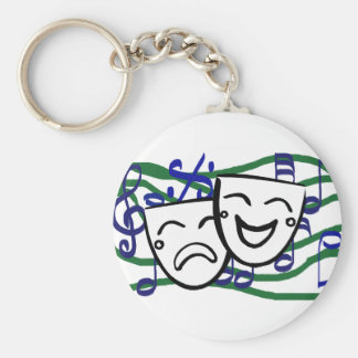 Drama: the Musical Keychain