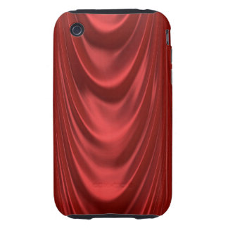 Drama Theatre Stage Curtains Acting Red Theater iPhone 3 Tough Case