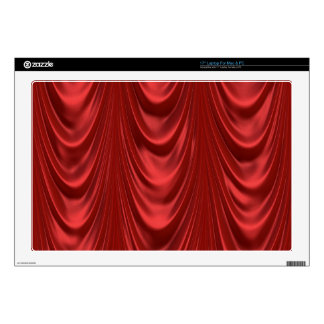Drama Theatre Stage Curtains Acting Red Theater Decal For Laptop