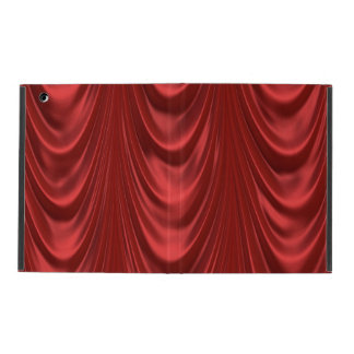 Drama Theatre Stage Curtains Acting Red Theater iPad Case